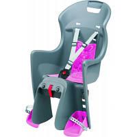 Детское велокресло Boodie for CFS цвет: grey-pink 8630500017