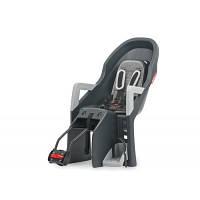 Детское велокресло Guppy RS Grey/silver 8637700004