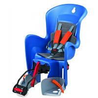 Детское велокресло заднее Bilby RS Reclinable System Blue/silver/orange