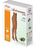 Колготы Aries Avicenum, закрытый носок, черный, 140 ден, 2