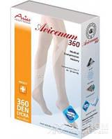 Колготы Aries Avicenum, закрытый носок, черный, 360 ден, 1