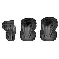 Spokey Защита на колени и локти M Buckler цвет: чорный 88699