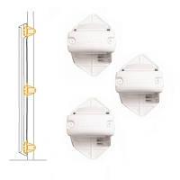 Lascal Крепление к балясине Bannister installation kit for locking strip цвет: white