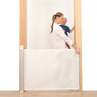 Lascal Дверное ограждение Kiddyguard avent до 120 см. цвет: white