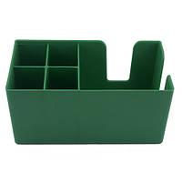 Органайзер барный на 5 ячеек пластиковый, зеленый 50х25 см. The Bars