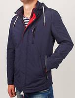 Стильная молодежная куртка,приталенногофасона с воротником стойкой и капюшоном
