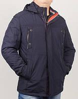 Стильная мужская куртка,удлиненная с двойными карманами на груди