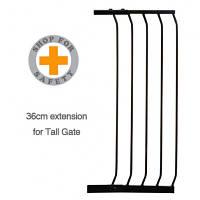 Dreambaby Дополнительная секция к барьеру Swing closed security gate High 36 см чорный F841B
