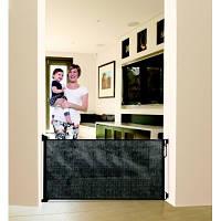 Dreambaby Дверное ограждение Roll Up Retractable Gate 10-140 см black
