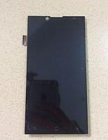 Оригинальный дисплей (модуль) + тачскрин (сенсор) для Prestigio MultiPhone Grace Q5 5506 Duo (черный цвет)