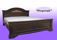 Кровать деревянная двухспальная Флореция
