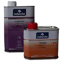 Лак акриловый HS150 ROBERLO SUPERIOR 1л + отвердитель P5000 0,5л