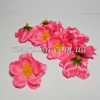 Цветок яблони, 4 см, цвет розовый, атлас