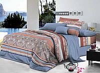 Двуспальный набор постельного белья Ранфорс №277