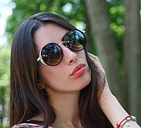 Женские солнцезащитные очки Jimmy Choo круглые