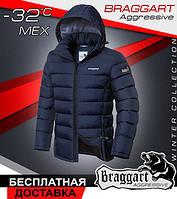 Мужская зимняя куртка Braggart модная
