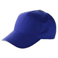 Кепки-пятиклинки с нанесением логотипа, на липучке, 5 цветов, 95911408 синий