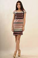 Платье Радуга Ri Mari баклажан