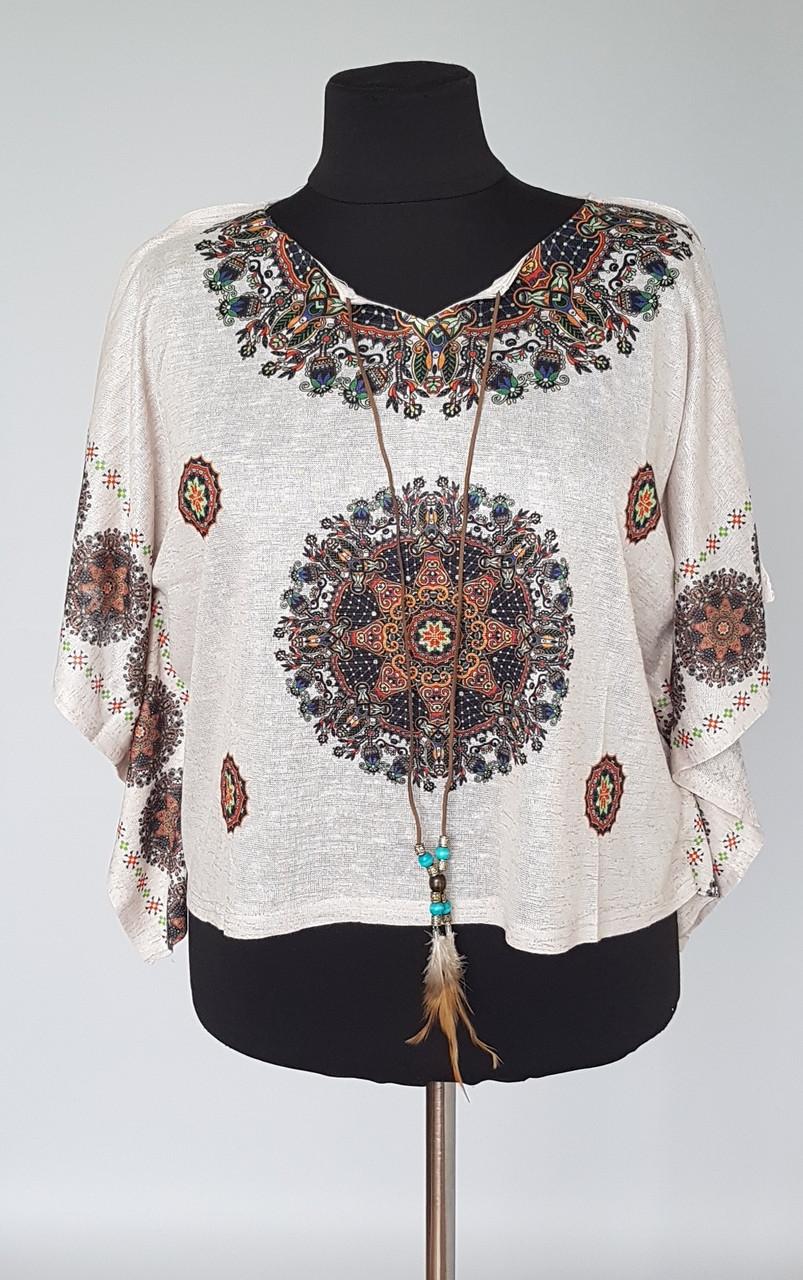 Блуза женская оригинального кроя