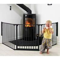 BabyDan Ограждение для камина Configure L/Flex L черный 56226