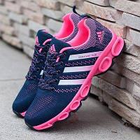 Кроссовки Adidas Marathon TR 26 Blue Pink (Синие)