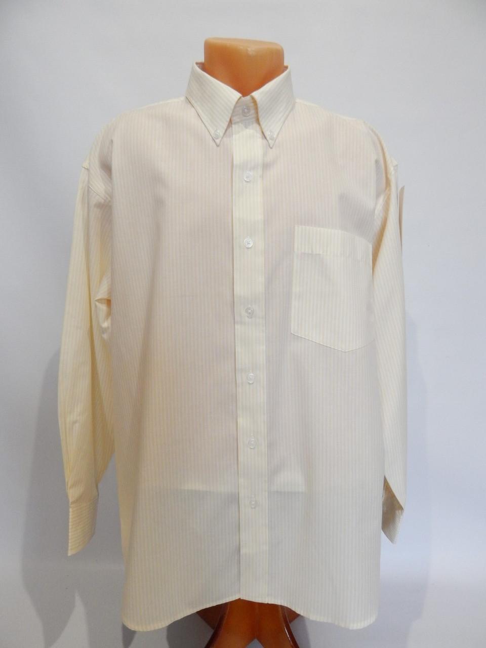 Мужская рубашка  длинным рукавом John Henry оригинал 049ДР р.50