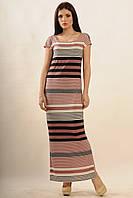 Платье Радуга-Макси Ri Mari баклажан