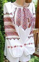 Вишиванка жіноча домоткане полотно розмір 52 розмір