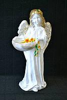 Фігура Ангел-дівчинка з корзиною 42 см Интерьерная статуэтка Ангел