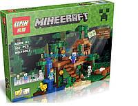 """Конструктор Lepin Minecraft 18003 """"Домик на дереве"""", 557 дет"""