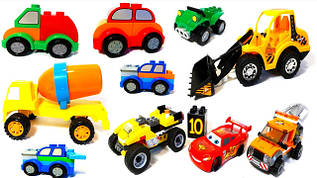 Машинки. Паровозы. Автобусы