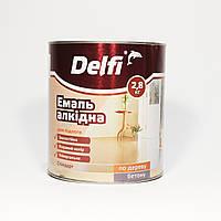 Эмаль ПФ-266  алкидная для пола Делфи красно-коричневая (2,8кг)