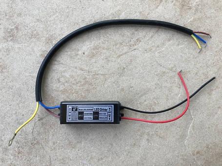 Драйвер для светодиодного прожектора 9-10W IP65 Код. 58930, фото 2