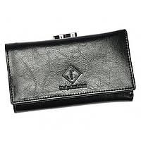 Женский кожаный кошелек 55020-SL Black
