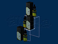 Горка под жидкости для электронных сигарет 100х165 мм, акрил 1,8 мм