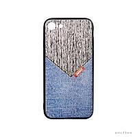 Чехол накладка Ремакс серия Джентельмен Remax Gentleman Series for iPhone 7 Jeans RM-279