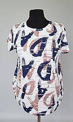 Женская летняя футболка с короткими рукавами