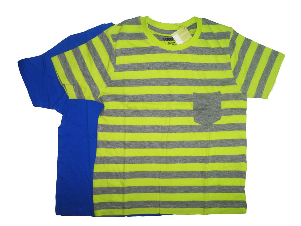 Футболка ( 2 шт. в упаковке ), для мальчика, Pepperts, размеры 134/140, арт. Л-018