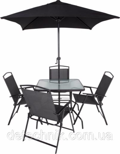 Black Patio Set Covers: Набор садовой мебели George Home Miami 6 Piece Patio Set