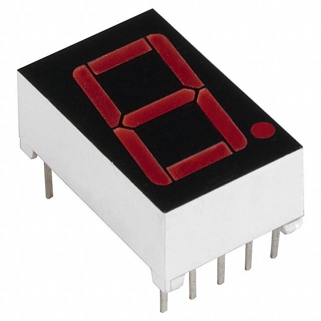 Семисегментный светодиодный индикатор LD-5161BS, 1 разряд 0,56', красный