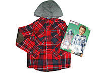 Рубашка с капюшоном для мальчика, Pepperts, размеры 134/140, арт. Л-022
