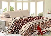 Плед на кровать, плед покрывало, (микрофибра), VL008