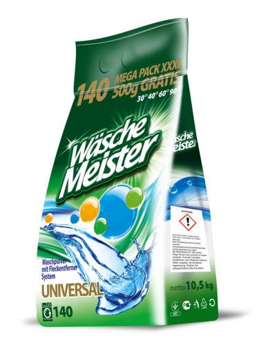 Пральний порошок універсальний Wasche Meister 10,5 кг