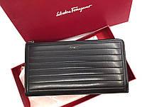 Мужской клатч Salvatore Ferragamo (F-7117) black leather