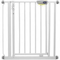 Chicco Дверное ограждение Nightlight Autoclose safety gate 76-81 см, белый