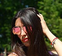 Женские солнцезащитные зеркальные очки Kenzo В20511