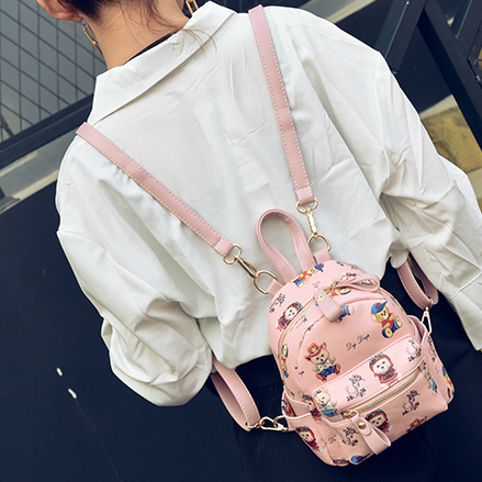 Мини рюкзак с мишками