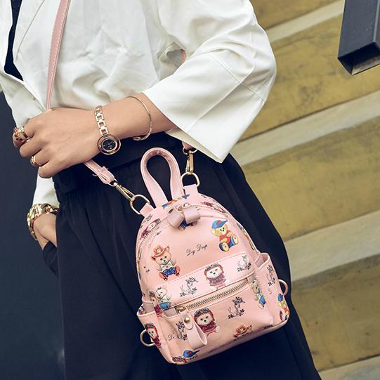 маленькая сумка - рюкзак для девочки