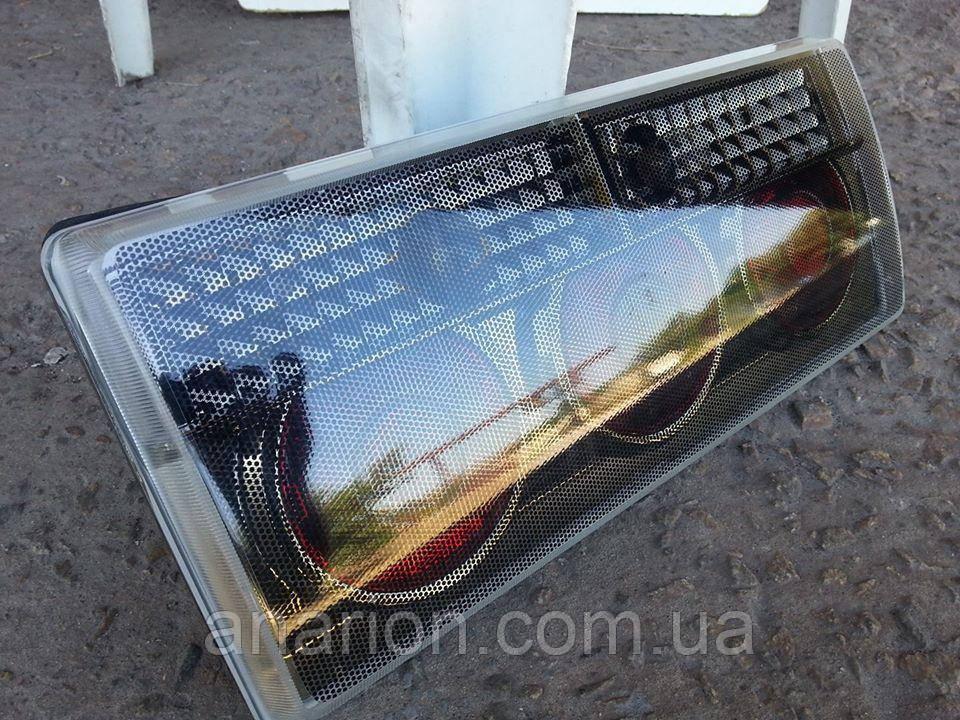 Задние фонари на ВАЗ 2107 Грэй №3 (карбон)