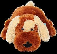 Подушка собачка Алина Шарик 45 см коричневый